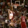 """""""Nine years ago today, @dwyanewade threw down one of the meanest dunks EVER on Anderson Varejao ⚡️"""""""