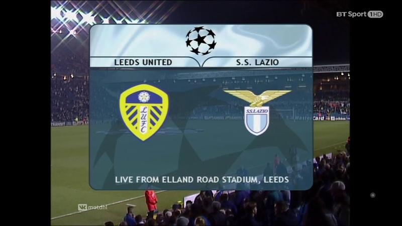 Leeds United 3-3 Lazio - UCL 20002001