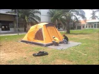Установка кемпинговой палатки World of Maverick Indiana