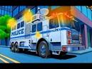 Транспорт Техника для Детей Мультики про Машинки Пожарные Полицейские Машины Пазлы