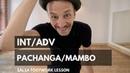 Salsa Footwork Lesson | Int/Adv Pachanga, Mambo Step