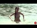 Полностью обнаженная Рената Данцевич купается в реке avi