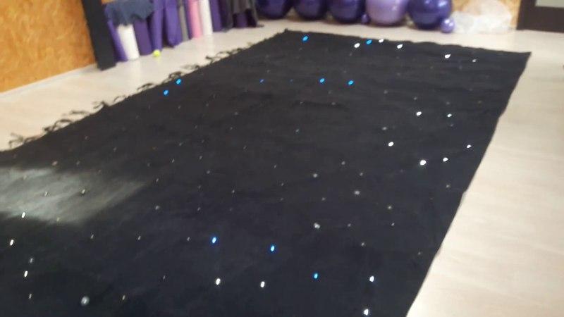 Светодинамический задник звездное небо RGBW