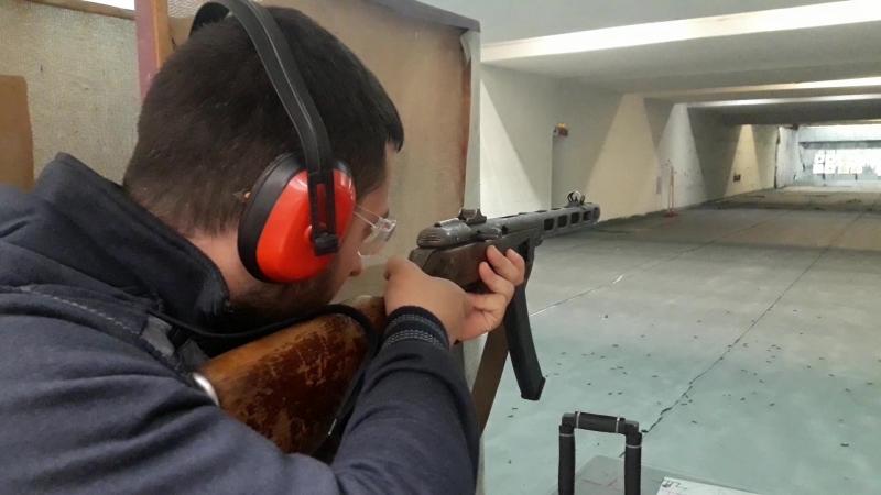 пистолет - пулемёт Шпагина