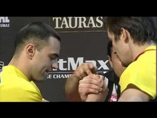 EuroArm 2013 - R.Babaiev vs E.Prudnik (finals 85kg right hand)