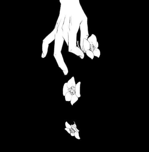 печальные картинки аниме: