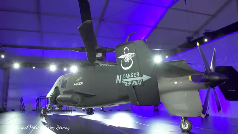 Презентация нового сверхбыстрого вертолёта США Sikorsky S-97 Raider