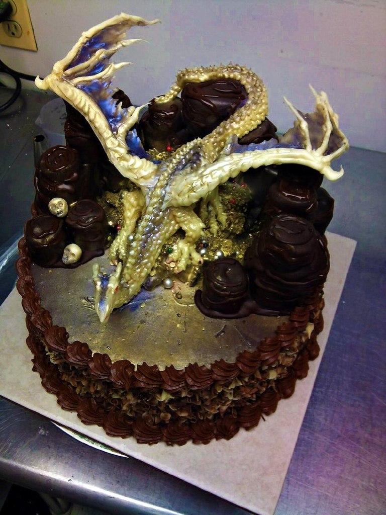 Рецепты тортов с фото дракон