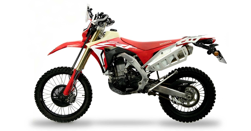 Первые фото Honda CRF450L Adventure Spec