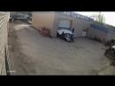 Под Екатеринбургом автомойщик пробил ворота и сбил двух женщин