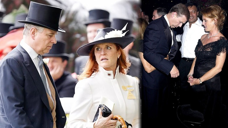 Another look of Sarah Ferguson's unusual relationship with Prince Andrew
