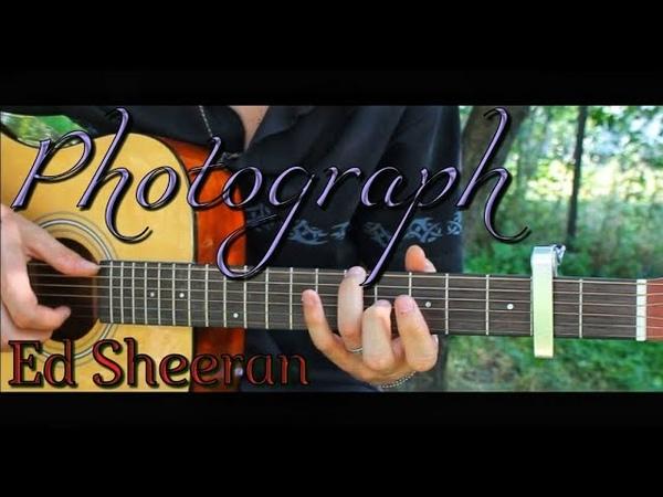 Ed Sheeran Photograph Fingerstyle by Dante