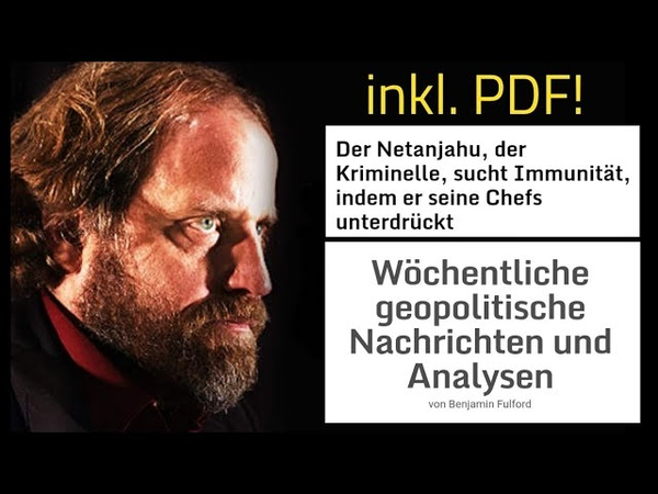 Benjamin Fulford Wochenbericht vom 19.11.18 deutsche Übersetzung inkl. PDF