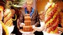 Фруктовые композиции с шоколадным фонтаном на праздник | Event-агентство ANNA LEGENDA