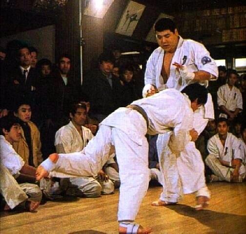 Макото Накамура_тест был остановлен Оямой после 31-го боя
