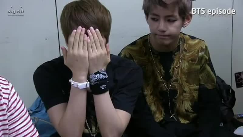 Fetus taejin are so adorable UwU and seokjin playing around and making cute faces