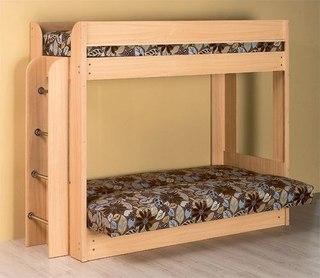 Двухъярусная кровать диван цена Москва
