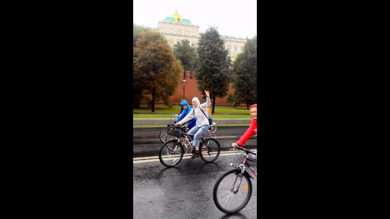 Герои велопарада