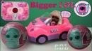 ШПИОНЫ ЛОЛ Секретная Миссия Биггер Сюрприз Мультик с Куклами Распаковка LOL Bigger Surprise
