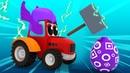 Трактор Супергерой и Яйцо с Сюрпризом / Акула Пират / Мультик про Тракторы