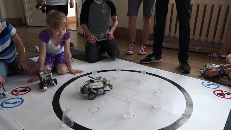 Соревнование Кегельринг | Летняя робототехническая школа