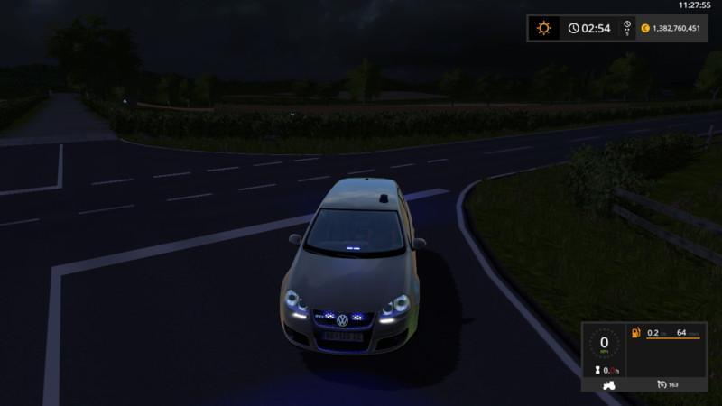 VW GOLF 5 UNMARKED POLICE UPDATE V2