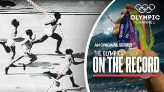 The First Ever Olympic Photo Finish | The Olympics On The Record