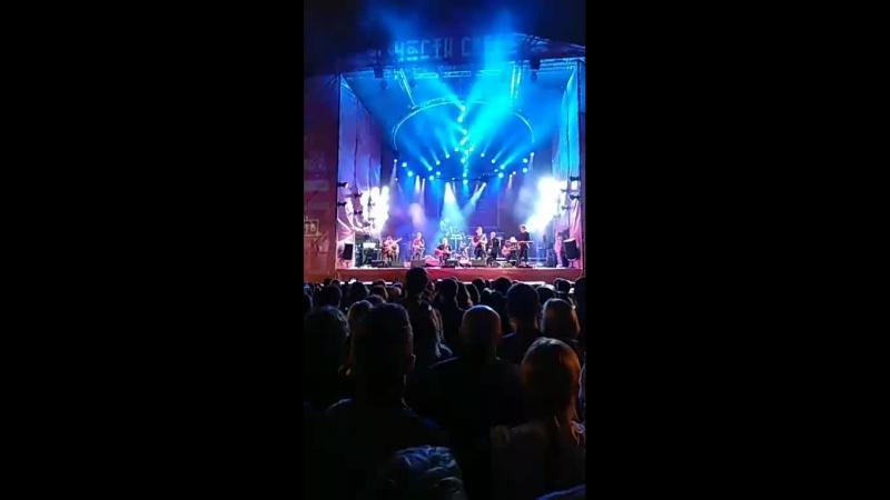 БОРИС ГРЕБЕНЩИКОВ на фестивале ЧАСТИ СВЕТА в ЮСУПОВСКОМ САДУ СПб livemusic