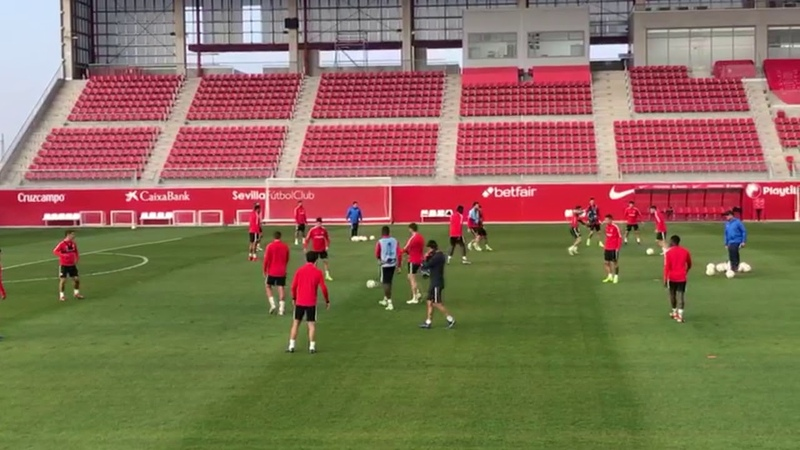 El Sevilla Prepara la Final contra el Krasnodar