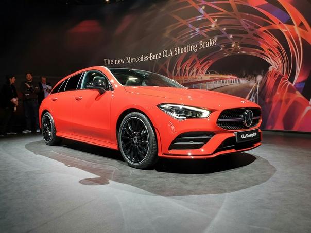 CLA Shooting Brae  неожиданная премьера Mercedes-Benz.