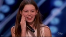 Courtney Hadwin 13 Year Old Singer Performance Judge Comments America's Got Talent 2018 Auditions