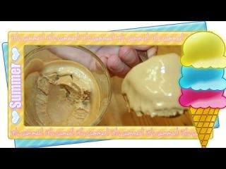 Рецепт - вкусное творожное мороженое | Как сделать мороженое дома