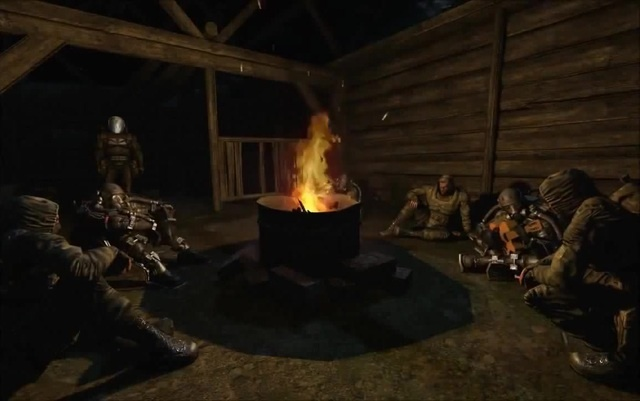 Сталкеры у костра HD| S.T.A.L.K.E.R Campfire