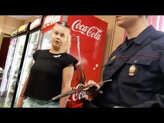 Полоцк. запрет съемки в магазине.