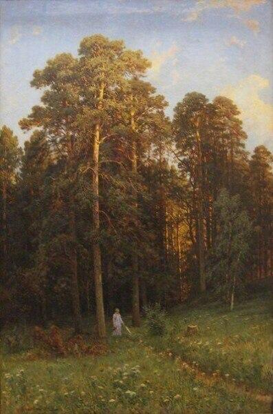 Красота русской природы в работах Ивана Ивановича Шишкина (1832—1898).