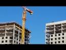 ЖК Эталон Сити башни Токио 1 2 3 третья завершена по монолиту На всех монтируют фасадные конструкции