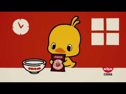 ХАРДКОРная Японская реклама лапши nissin.