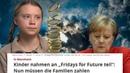 Öffnet Frau Merkel nun privat ihren Geldbeutel? Fridaysforschule Greta Bußgeld