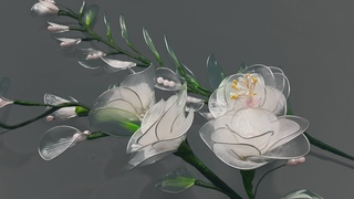 Cara membuat bros cantik dari pita satin Diy tutorial kanzashi flower e6b55ec4fb