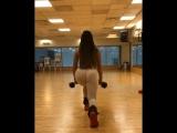 Avital Cohen молодая студентка фитоняшка с обалденной сочной попкой занимается в зале, студентка большие жопы секс спортсменка
