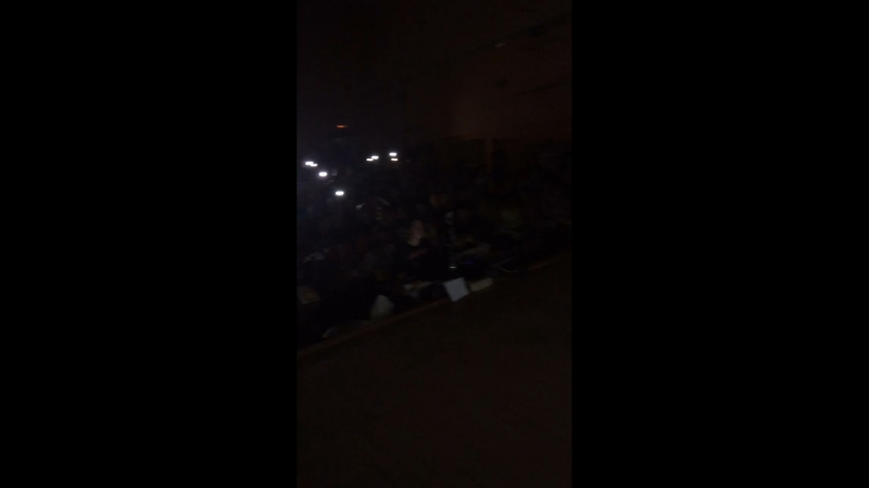 Момент из вожатского концерта 2018 год, 4 смена