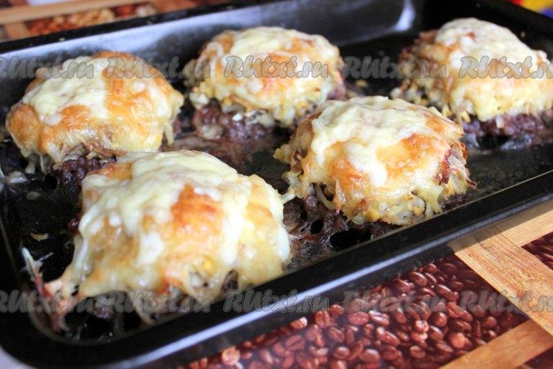 Блюда в духовке из фарша рецепты с фото пошагово