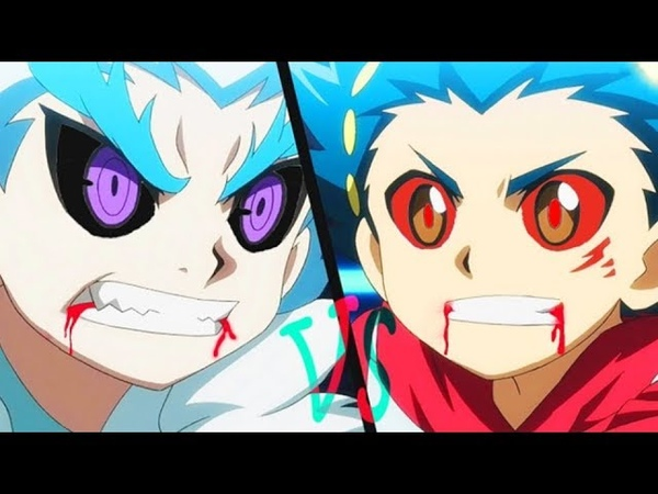 BEYBLADE AMV Valt VS Lui and Kurtz Aiga VS Fubuki Full Finals Match