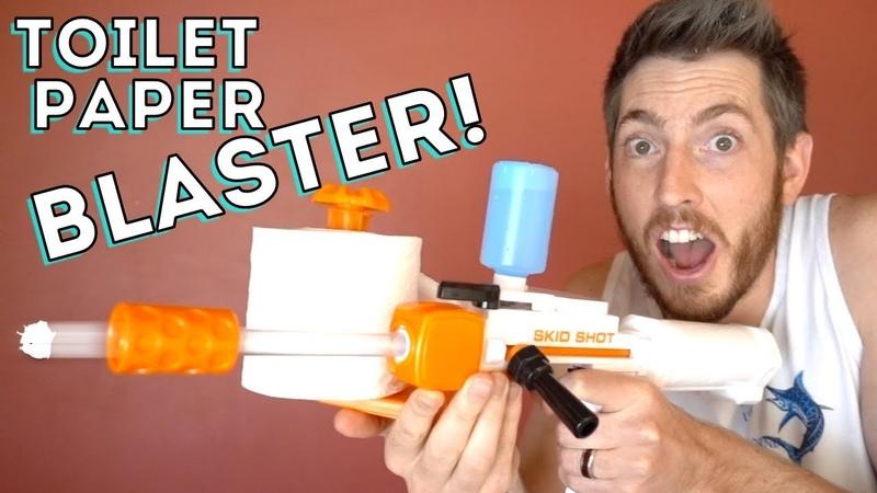 NEW TOILET PAPER BLASTER!
