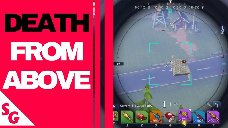 Death From Above In BATTLE ROYALE Game CREATIVE DESTRUCTION
