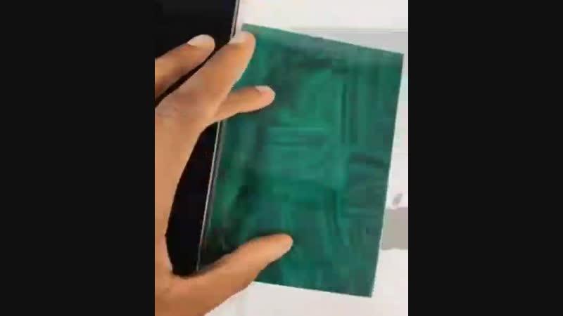 Пленка которая обнаруживает скрытые магниты