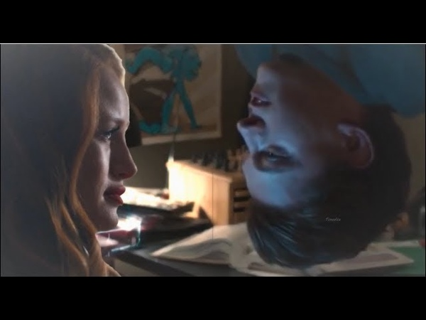 Cheryl Blossom and Peter Parker He's gone