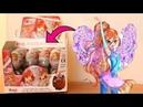 АРМИЯ ФЕЕЧЕК ВИНКС ИЗ КИНДЕРА ПРЯЧЕТ БЛУМ! Открываем 22 шоколадных яйца винкс с игрушкой!