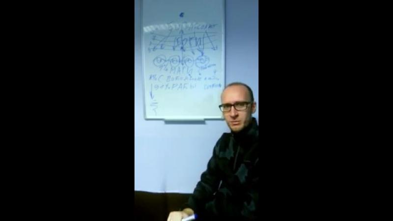 Сергей Белоконь. Базовая схема Иерархии. Абсолют, Боги, Эгрегоры
