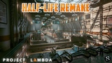 Unreal Engine 4 Project Lambda - GTX 970 ( Half-Life Remake 2019 )